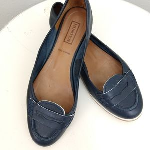 Hunter Ballet flat in a penny loafer style SZ 37